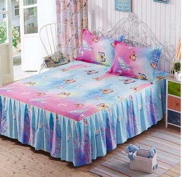 Simmons Bed Skirt Bedspread Bed Cover Sheet Korean Princess 1.8/1.5/1.2  Meters In The Summer The Fitted Bed Cover Sheets In Bed Skirt From Home U0026  Garden On ...