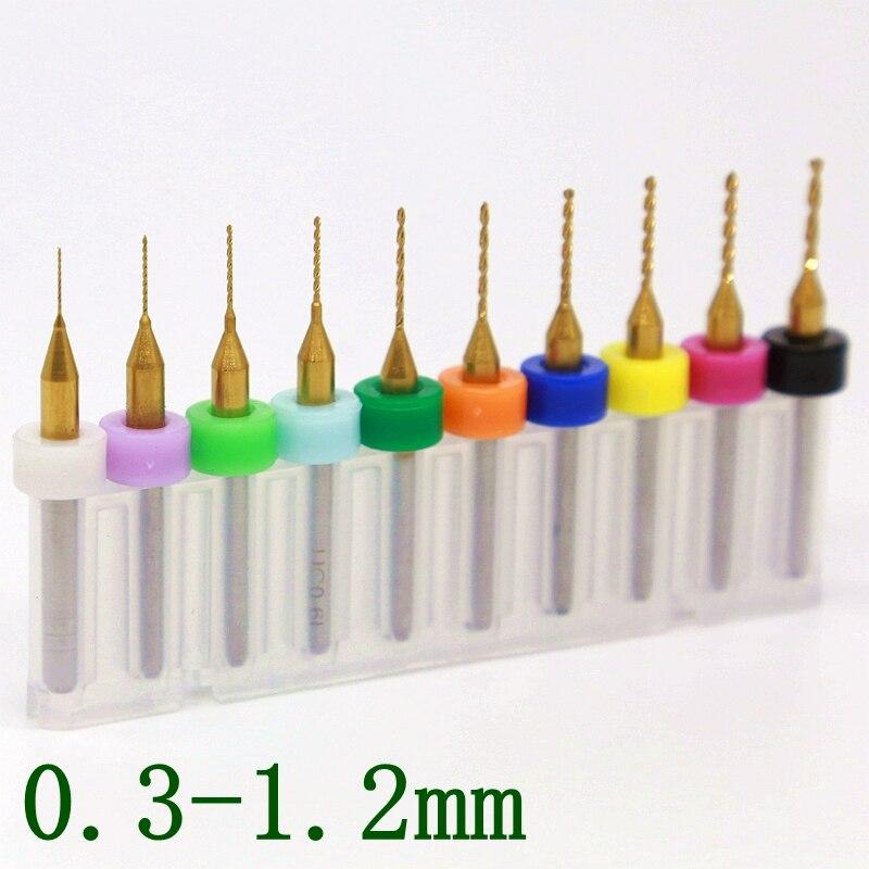 Broca de PCB recubierta de titanio 0.2-1.2 mm, fresadora CNC - Broca - foto 3