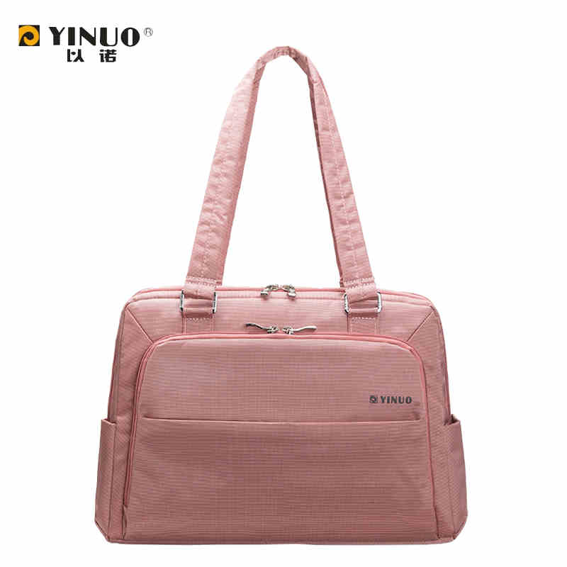 High quality YINUO waterproof laptop bag 13 14 15.6 inch notebook women men's handbag super big business briefcase messenger bag