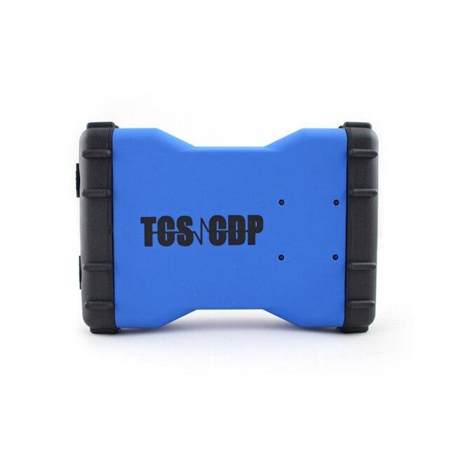 Бесплатная доставка TCS CDP 2015. R1/2014. R2 диагностический инструмент OBD2 высокое качество cdp cdp бесплатный активировать для легковых автомобилей и грузовиков