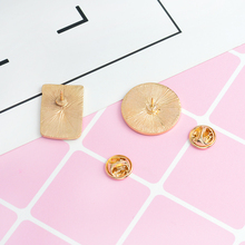 Constellation Moon and Bottle Brooch Pins