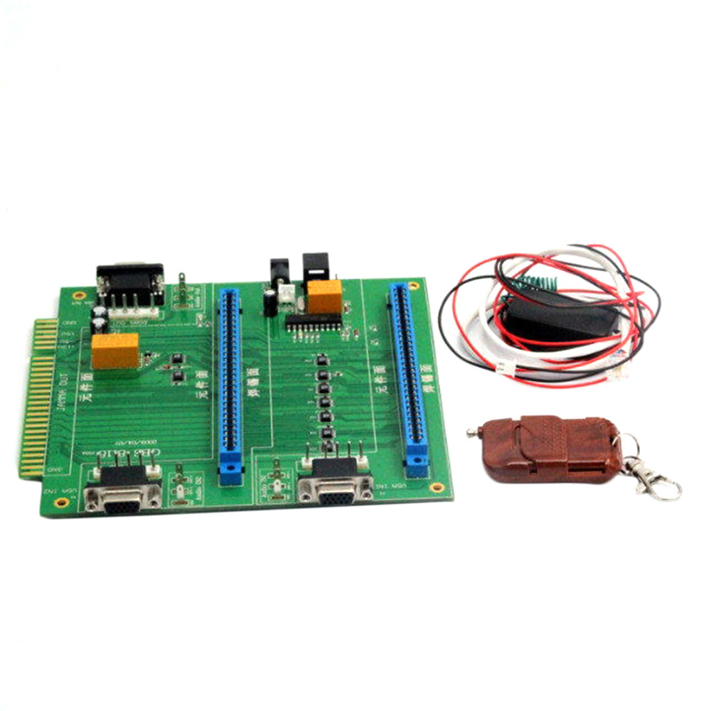 2 in 1 Switcher / Splitter Multi with Remote for GBS-8118 Arcade Game for PCB hot sale new hdmi 4x1 quad multi viewer screen splitter with seamless switcher ir control operated with the remote