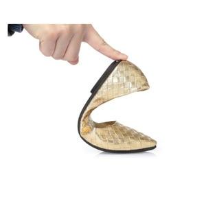 Image 5 - BEYARNE בתוספת גודל 35 41 אופנה דירות זהב כסף דירות נשים של העקב שטוח נעלי אופנה דירות משלוח חינם