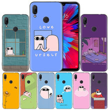 Ketnipz on Twitter Black Silicone Case Cover for Xiaomi Mi 9 8 Play A1 A2 Redmi Note 7 6 6A 5 Plus S2 GO Lite Pro Pocophone F1(China)