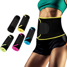 Neoprene Cinto Tummy Shaper Do Corpo Slimming quente Manter Aquecido Mulheres Homens Trainer Cintura Cinchers Shapers Do Corpo Shapewear Lingerie Espartilho