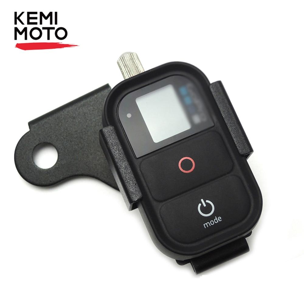 KEMiMOTO Frente Suporte para Go Pro Controle Remoto para BMW R1200GS Adv F700GS F800GS G310R G310GS 2013-2018 Motocicleta acessórios
