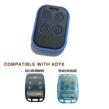 Multi Freqüência Controle Remoto Clone Duplicador 280 mhz-868 mhz Auto Scan ADYX TE4433H AZUL 433-HG BRAVO Para Garagem abridor de porta