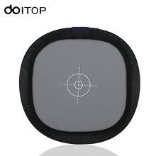 "DOITOP 12 אינץ 30 ס""מ איזון מצלמה פנים זוגי כרטיס אפור מתקפל רפלקטור צילום סטודיו אבזרים # 18% לבן אפור 3"