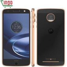 Motorola MOTO Z XT1650 Einzelne Sim Quad Core 4 GB RAM 32 GB ROM 4G LTE 5,5 zoll Android 7.0 13.0MP Smartphone auf Verizon