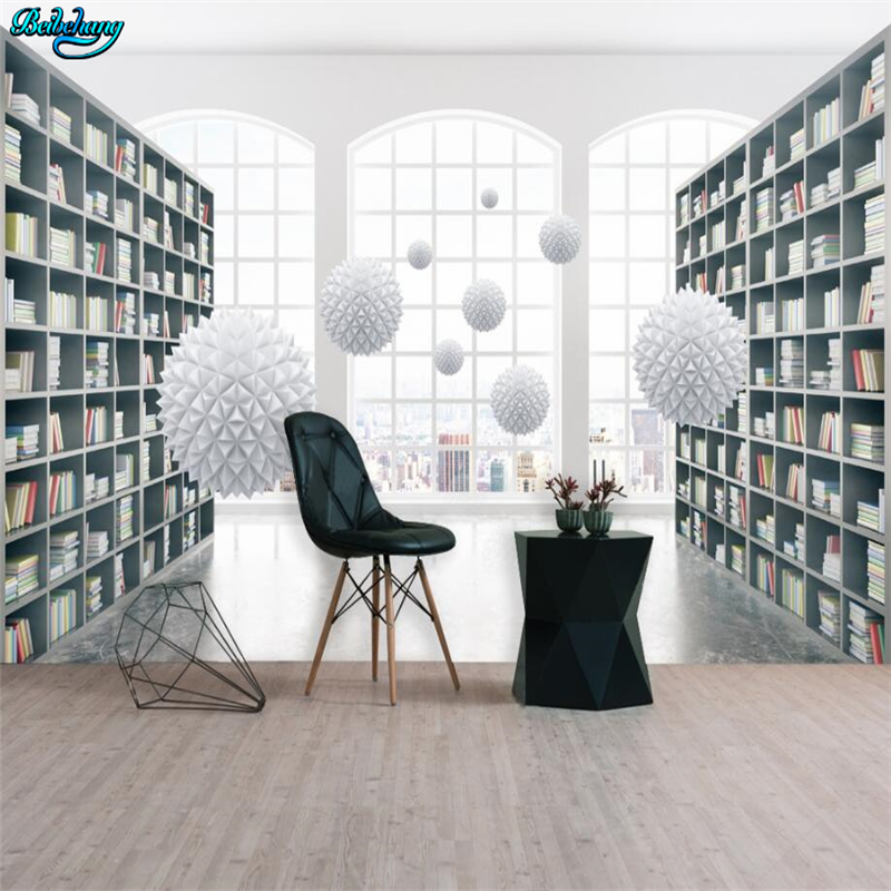 study background future 3d space beibehang stereoscopic decoration custom
