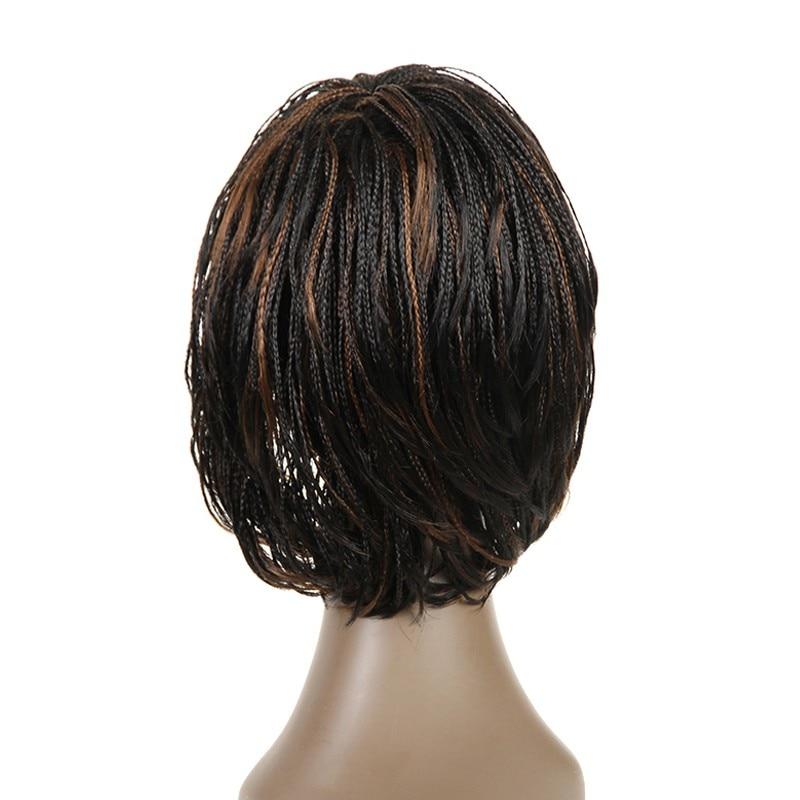 Feibin Box Crochet Braiding Hair Wig Afrikansk Syntetisk Senegalese - Syntetiskt hår - Foto 3