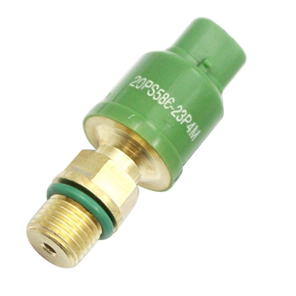 EX120-5 EX200-5 Pressure Sensor 20PS586-19F82 for Hitachi Excavator, 3 month warranty excavator ex200 5 throttle sensor 4614912 for hitachi stepping motor throttle position sensor excavator spare parts