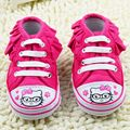 Pink Hello Kitty Casual Baby Shoes Kids Chaussure Newborn Sport Sneakers Infant Boots Child Booties Sapatinhos bebe Sapatos 0-1Y