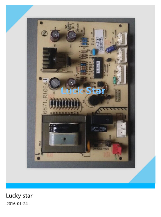 95% new for LG refrigerator computer board circuit board GR-Q21DDH/DDY 6871JR1064J driver board good working