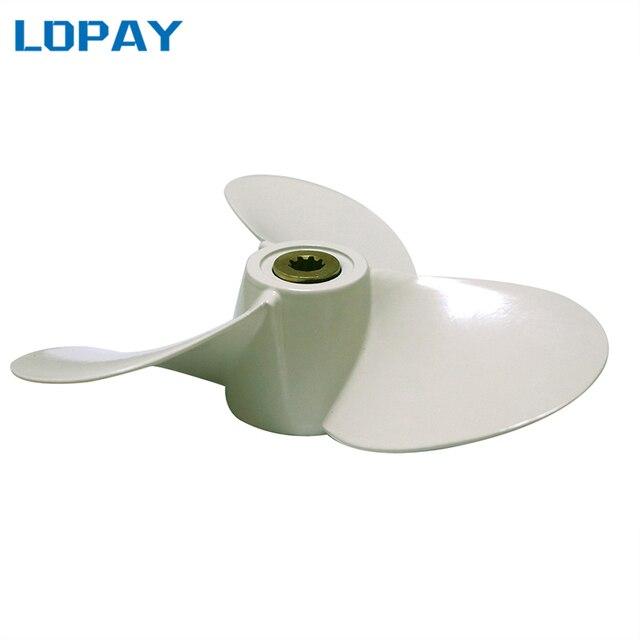 7 1/2x7-BA boat engine propeller for Yamaha 6E0-45943-01-EL,propeller for Hidea 4-6HP,propeller for Parsun 4-6HP