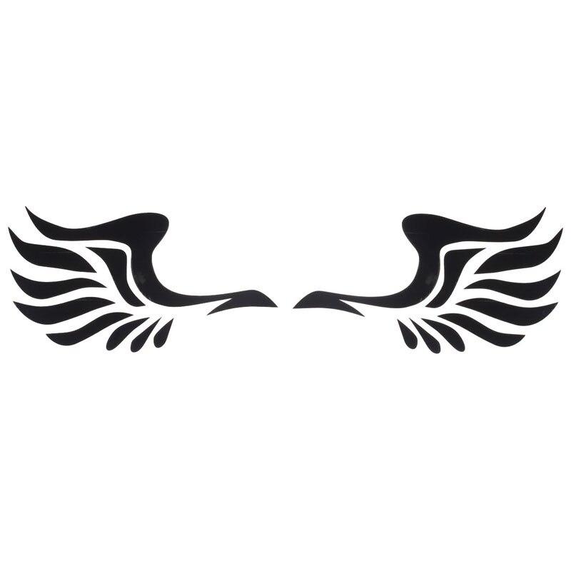 2017 neue flügel Design 3D Dekoration Aufkleber Für Auto Seite Spiegel Rearview
