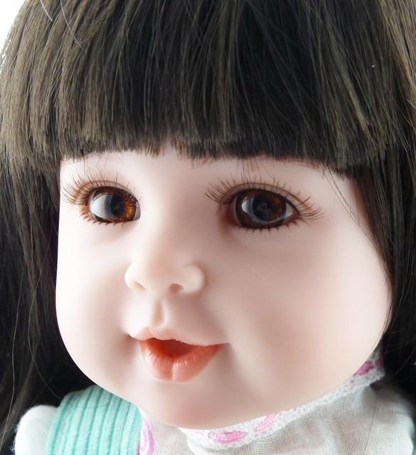 New arrival silicone vinyl reborn baby doll lifelike newborn toddler simulated doll princess brinquedos new year