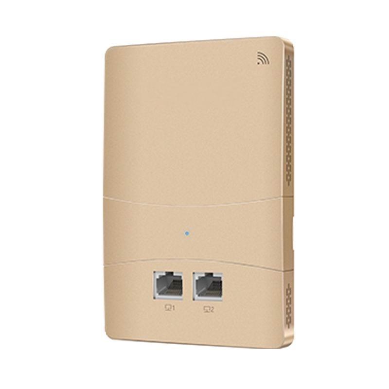 2,4 Ghz + 5 Ghz 1200 Mbps In Wand Ap Für Wifi Projekt Indoor Ap 802.11ac Wifi Access Point Unterstützung Poe Netzteil 1000 M Rj45 Port * 2
