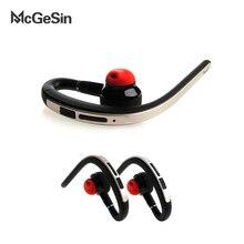 Mcgesin bluetooth ワイヤレスイヤホンビジネスイヤフォン音楽スポーツヘッドセットとマイク huawei 社 xiaomi 電話