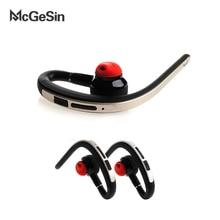 Mcgesin bluetooth sem fio fones de ouvido de negócios handsfree música esporte fone com microfone para huawei xiaomi telefone