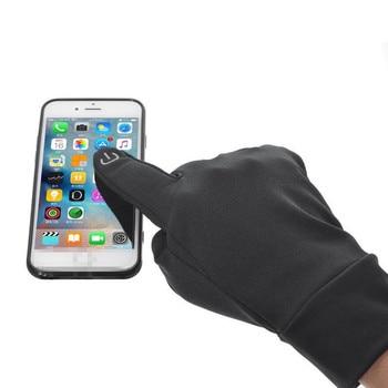 Fashion Touch Screen Windproof Waterproof Outdoor Sport Gloves Men Women Winter cotton gloves