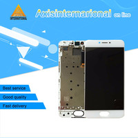 Axis LCD Display Screen Touch Panel Digitizer With Frame For 5 2 Meizu Pro 6 White
