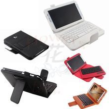 Wireless Bluetooth ABS Plastic keys keyboard & PU leather Case cover for samsung galaxy Note 8.0 N5100 N5110 texture