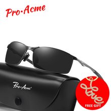 Pro Acme Brand Men HD Polarized Sunglasses Classic Vintage Sun Glasses Coating Lens Driving Eyewear for UV400 Oculos PA1170