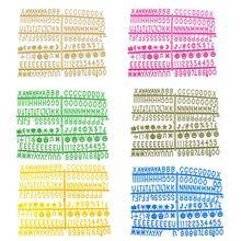 Персонажи для войлочной доски с буквами 340 шт многоцветные цифры для доски со сменными буквами