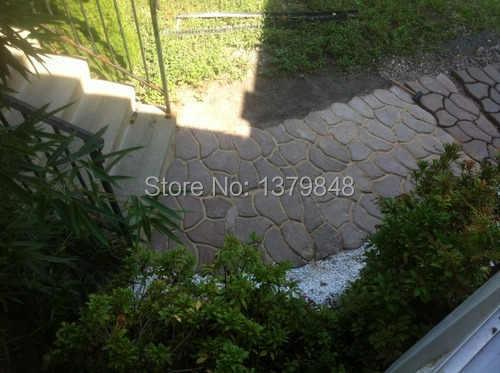 35 Cm DIY Đính Đá Mặt Đường Khuôn Làm Con Đường Cho Khu Vườn Của Bê Tông Vườn Khuôn