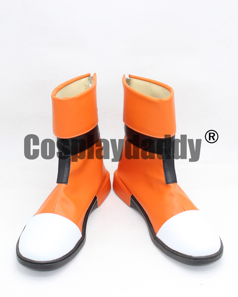 Katie Holt Pidge Gunderson Casual Ver. Animation Cosplay Orange Shoes Boots X002