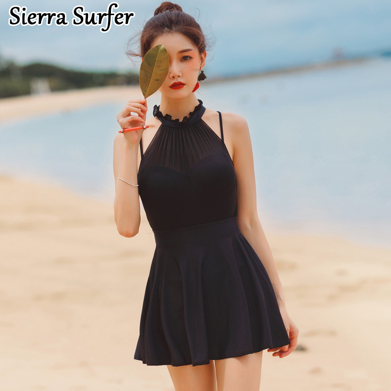 One Piece Swimsuit Swim Suit May Beach Girls Large Size Swimsuits 2018 Sexy Plus Woman Push Cover Up Underwire Skirt Maio cheap sexy bathing suits lady bikini 2017 may beach girls bikinis women one piece korea 2018 size underwire push up new skirt