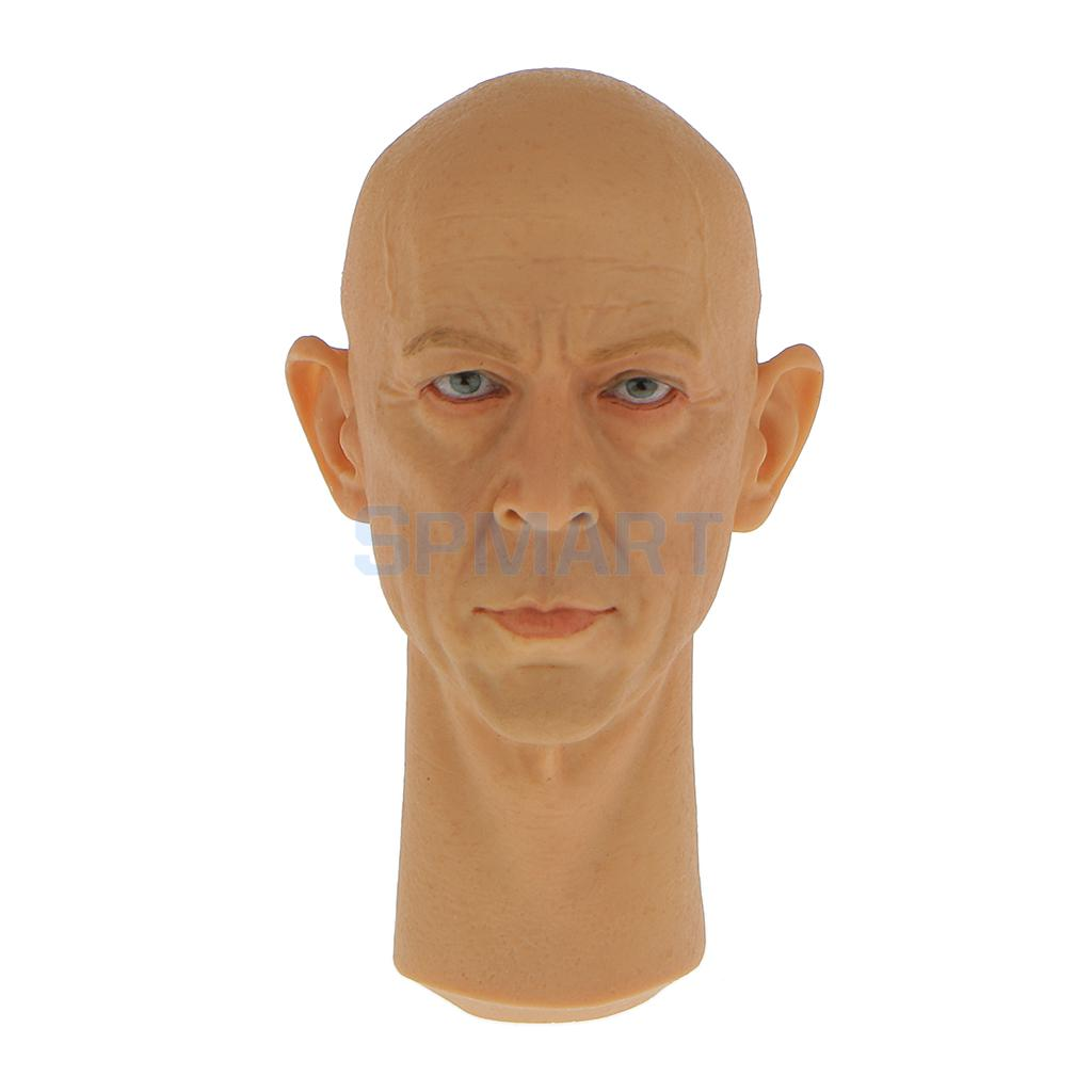 1/6 Scale Male Head Sculpt for 12 inch Hot Toys Dragon DID BBI Action Figure Muscular Body Kumik 15-33 2016 compatible zc toys 1 6 scale muscular figure body with russell ira crowe leonardo wolverine head zc01 zc02 zc03