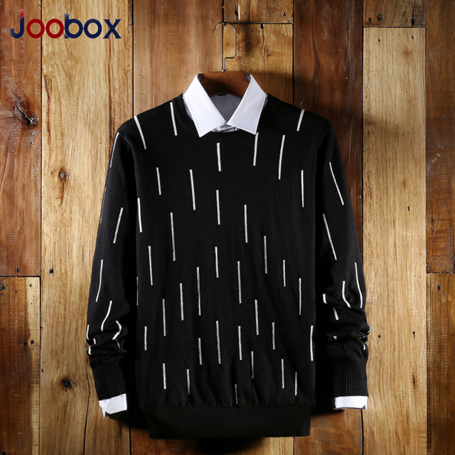 JOOBOX Men Wool Sweater 2017 New Brand Autumn O-neck men sweatercoat High Quality Male Winter Cardigan brand clothing (MYJ02)