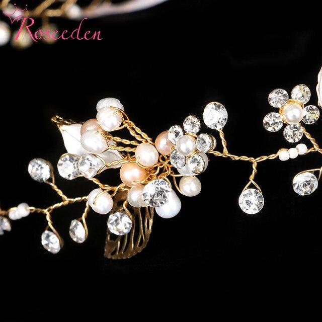 Фото свадебные украшения для волос ручной работы с жемчугом цветочный цена