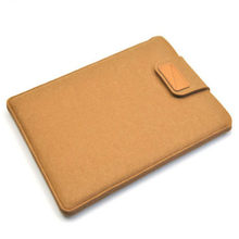 "Wool Felt Tablet Bag Pouch For iPad mini 1 2 3 4 Case 8 inch 9.7"" Universal air 2 Tablet PC Sleeve Cover Shell Funda Skin Bag(China)"
