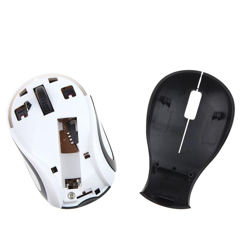 Best Price Cute Mini 2000 DPI 2.4 GHz Wireless Gaming Mouse Optical Mouse Mice For Computers PC Laptop Notebook