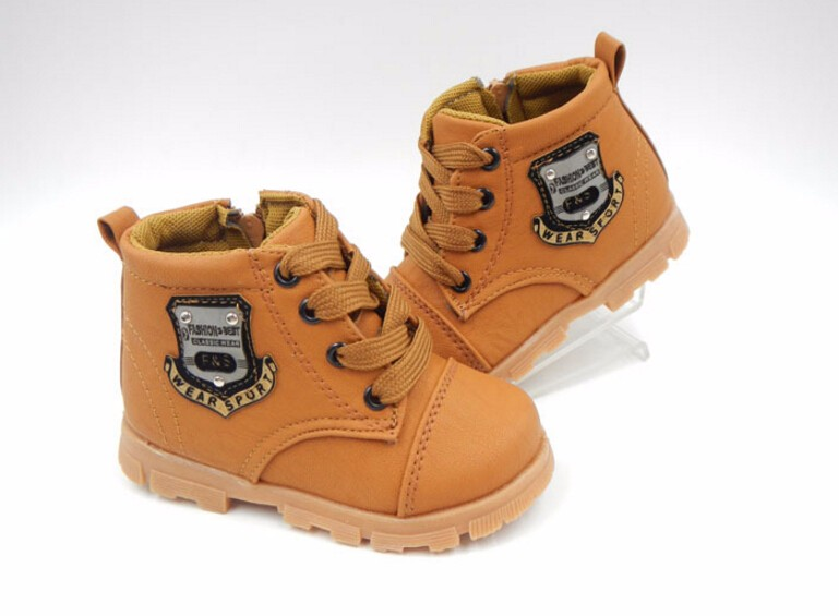 16 autumn children sport shoes boys chaussure baby girls short boots for kids sneakers child Ankle casual martin shoes 4