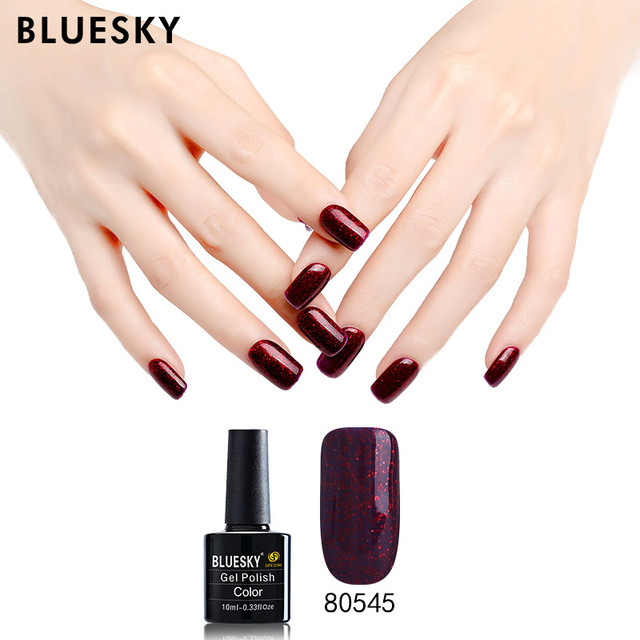 How To Apply Bluesky Gel Nail Polish - Creative Touch