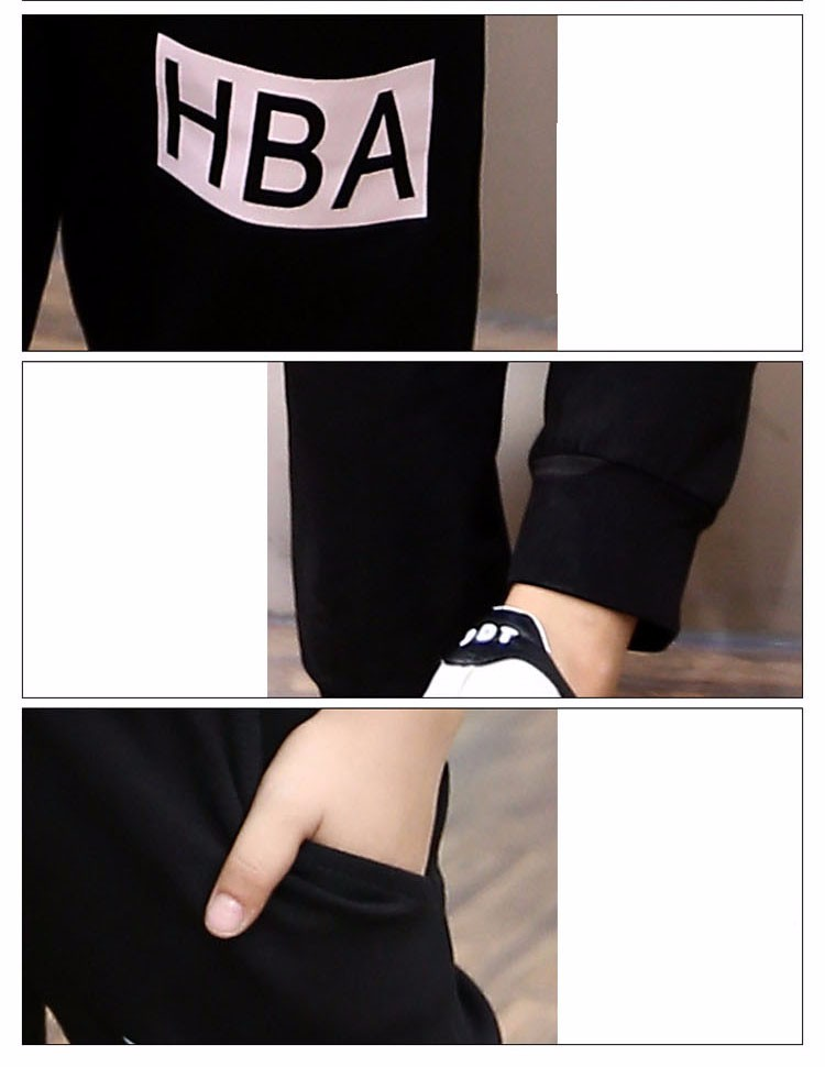 little teenage girls clothes sports suits girls outfits tracksuit autumn spring letters tops t shirts black pants tracksuits girls sets 5 6 7 8 9 10 11 12 13 14 15 16 years old little big teenage girl children sport sets clothing set for gir (2)