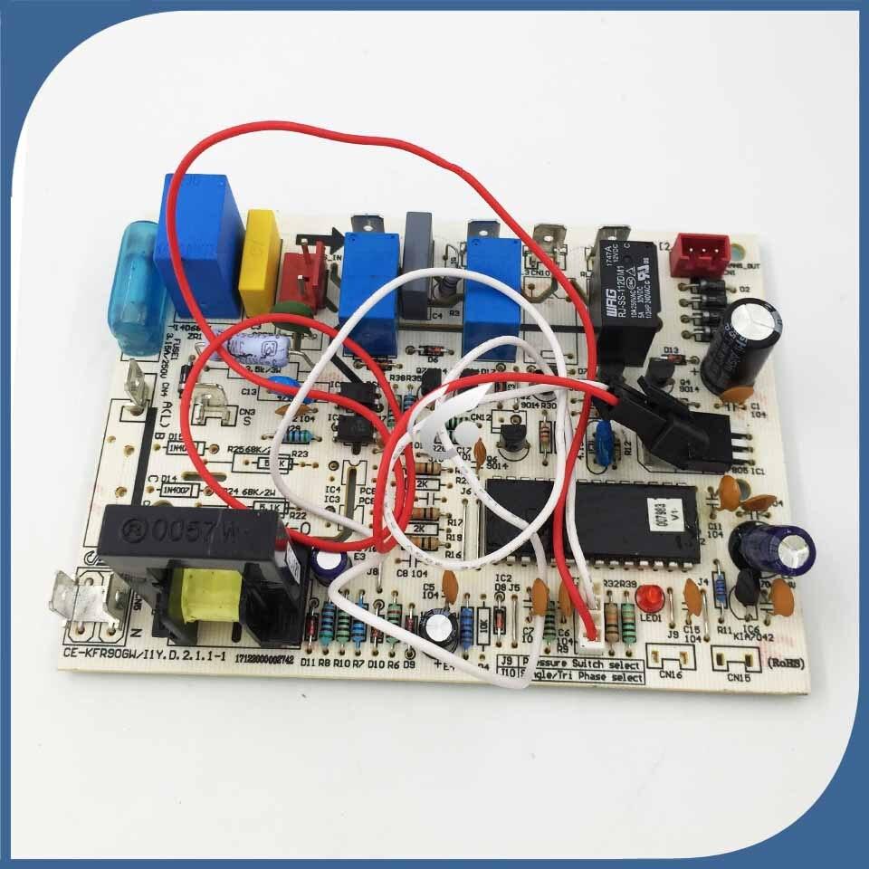 Nouveau bon travail pour la climatisation CE KFR90GW/I1Y CE KFR61W/N1 210 (C9) W carte de contrôle de carte pc-in Pièces de climasateur from Appareils ménagers    1