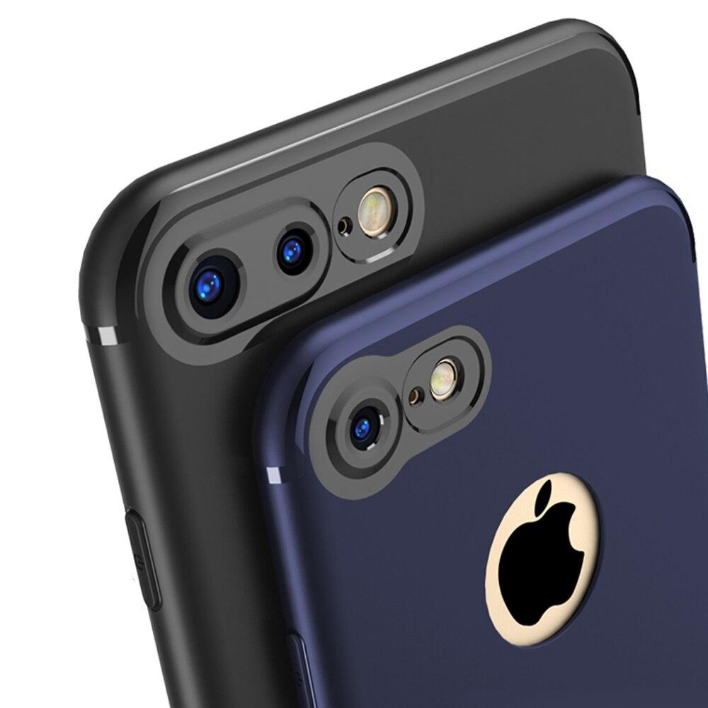 Ультра тонкий матовый мягкая резина Силиконовые ТПУ анти-отпечатков пальцев Противоударный задняя крышка защитный чехол для телефона <font><b>iPhone</b></font> 6&#8230;