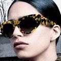 Feidu new mulheres moda de luxo de alta qualidade grande fra retro dos óculos de sol dos homens das mulheres grife óculos de sol oculos de sol feminino