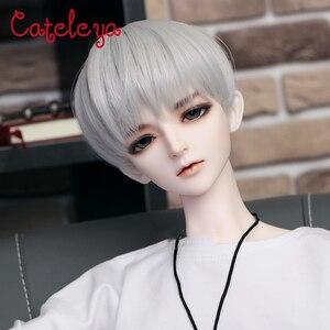 Cataleya BJD poupée perruque haute température fibre mâle poupée Joker quotidien juvénile court 1/3 cheveux