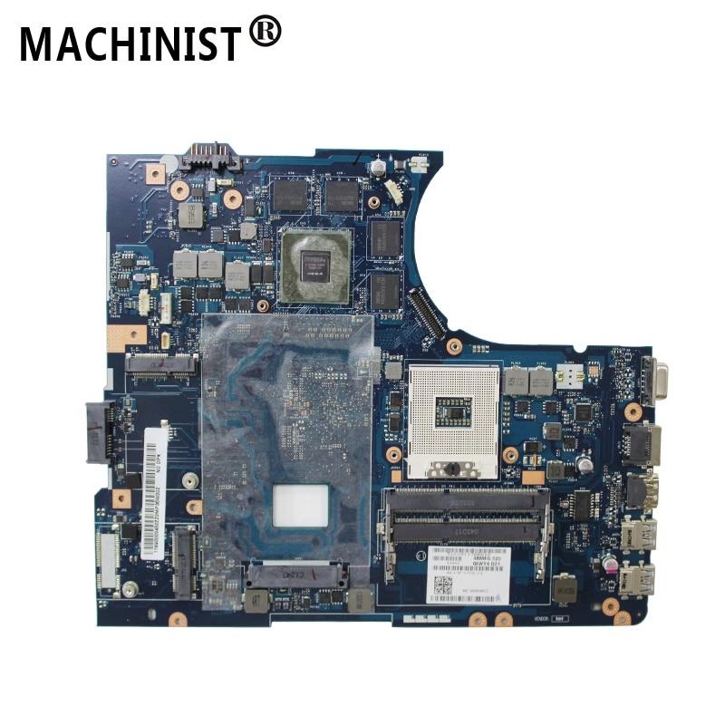 Original For Lenovo IdeaPad Y580 QIWY4 LA 8002P Laptop Motherboard GTX660M 2G HM76 DDR3 PGA989 90001314
