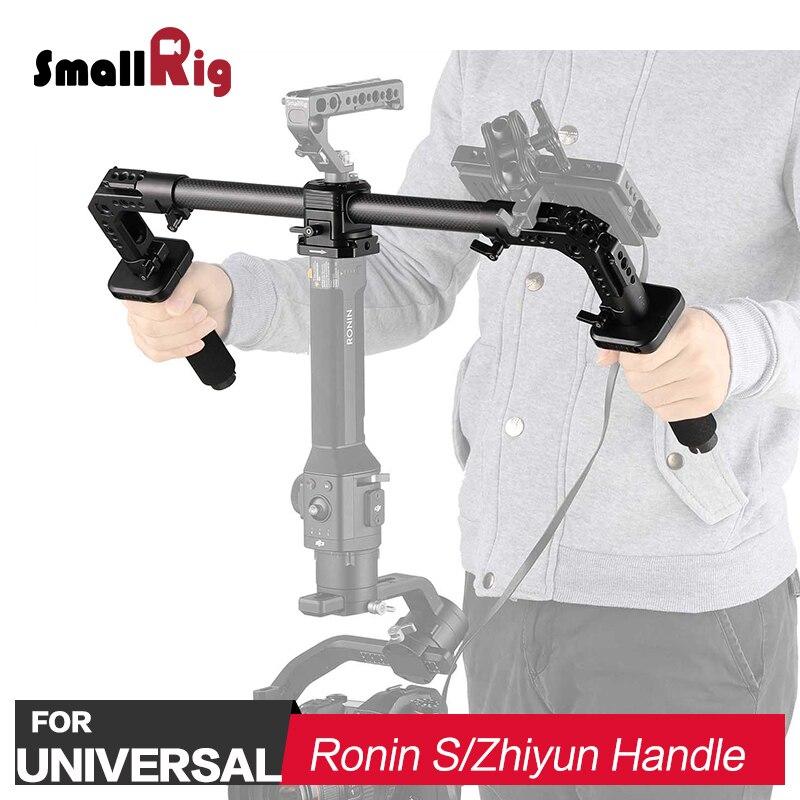 SmallRig DSLR Camera Dual Handgrip for Handheld Gimbal DJI Ronin S for Zhiyun Crane Series 2210