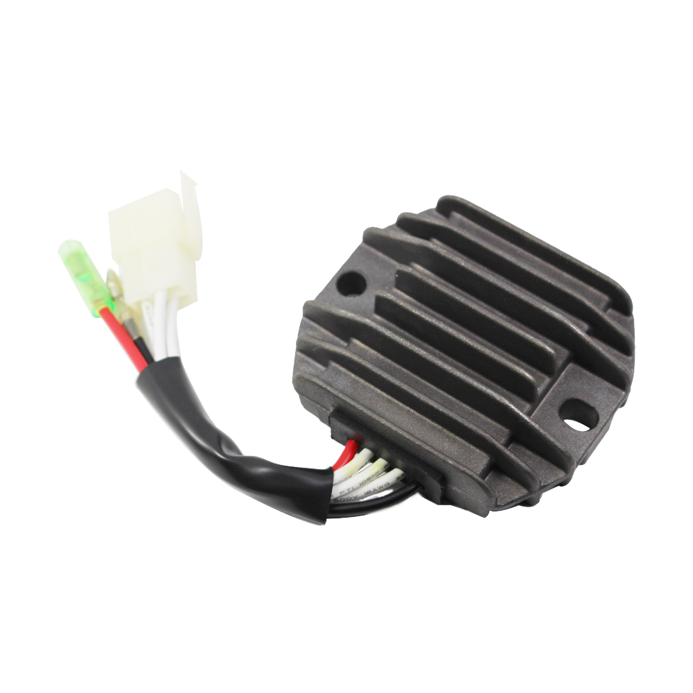 3 Pin 2 Wires Motorcycle Voltage Regulator Rectifier For Yamaha YFB 250 YFM 350 Big Bear 3 pin 2 wires motorcycle voltage regulator rectifier for yamaha yamaha rectifier wiring kits at gsmportal.co