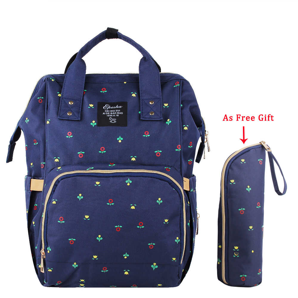 0aa8d9db8fcc New Printed Multi-functional Baby Diaper Bags Fashion Travel Backpack  Maternity Large Capacity Waterproof Stroller Nappy Bag