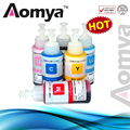Free Shipping Dye Based Non OEM Set of 6 Refill Ink Kit 70ml suit for Epson L800 L801 printing ink Cartridge No. T6731/2/3/4/5/6