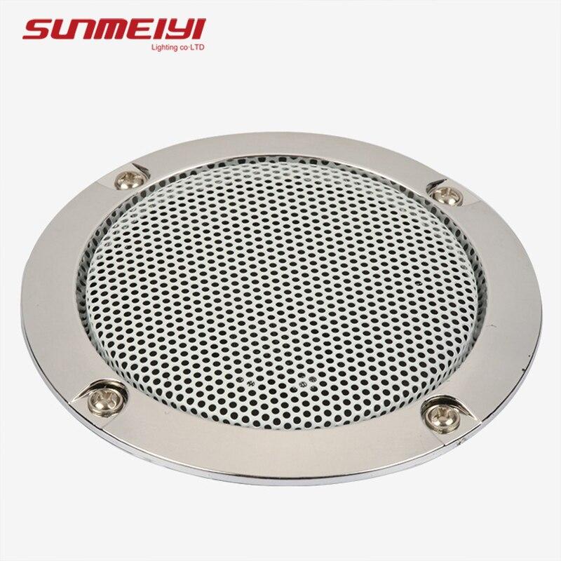 Moderne Bluetooth plafonniers télécommande et APP lumière intelligente pour salon chambre à coucher Dimmable LED plafonnier musique haut parleur - 4